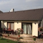 Sedlová strecha v tvare L