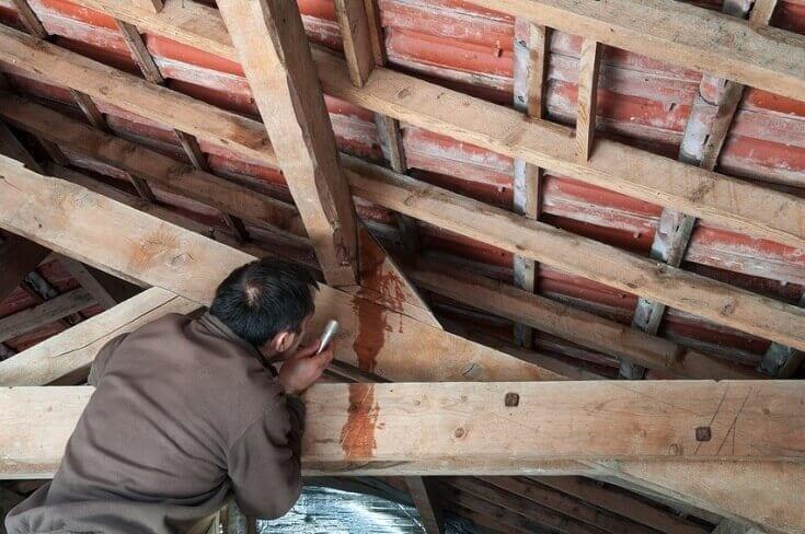 Zatekanie strechy a hydroizolácia