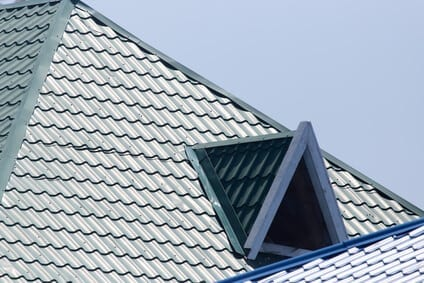 Plechová krytina na streche