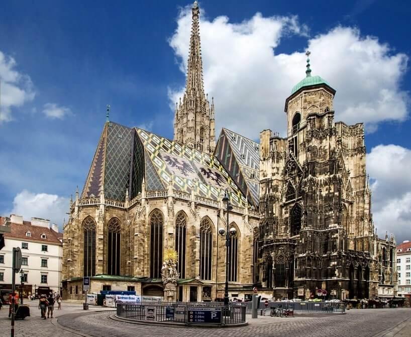 Dom-sv.stefana-vo-Viedni-gotika-rakusko