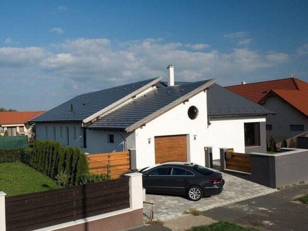 Druhy striech - pultová strecha
