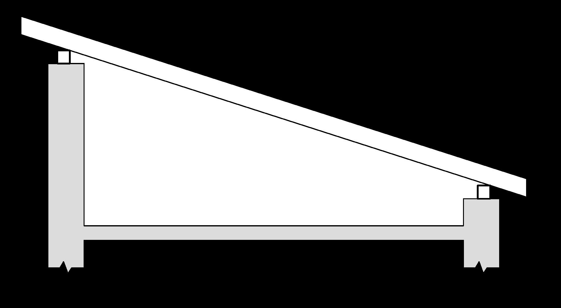 Jednoduchá pultová strecha