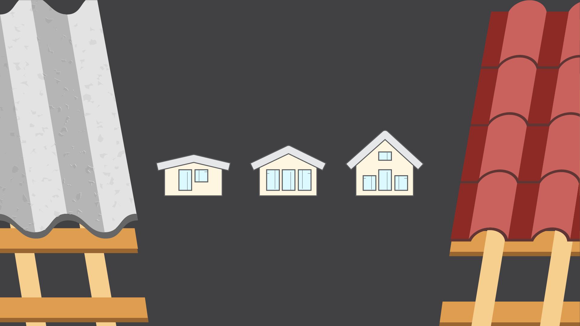 Podrobne o výbere krytiny podľa sklonu strechy (+infografika)