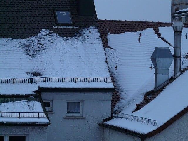 Sneh na streche
