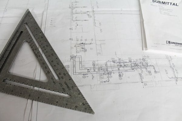 Kontrola projektu strechy