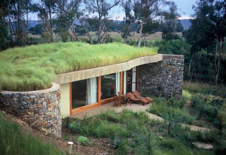Zelená strecha – užitočná krása