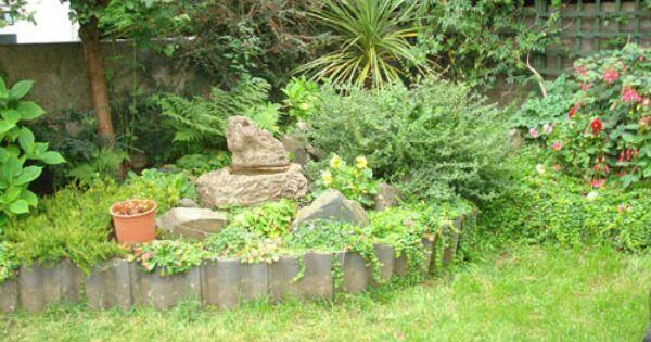 Záhradný obrubník zo škridle