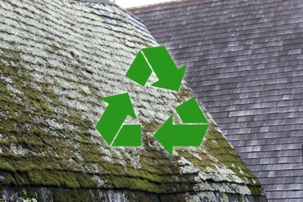 Čo so starou strechou a môžem materiál recyklovať?