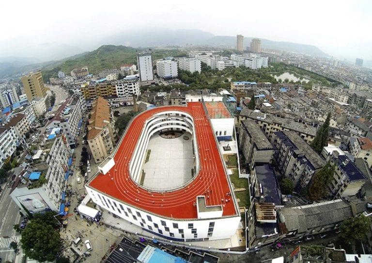 Tchien-tchaj-skola-stadion