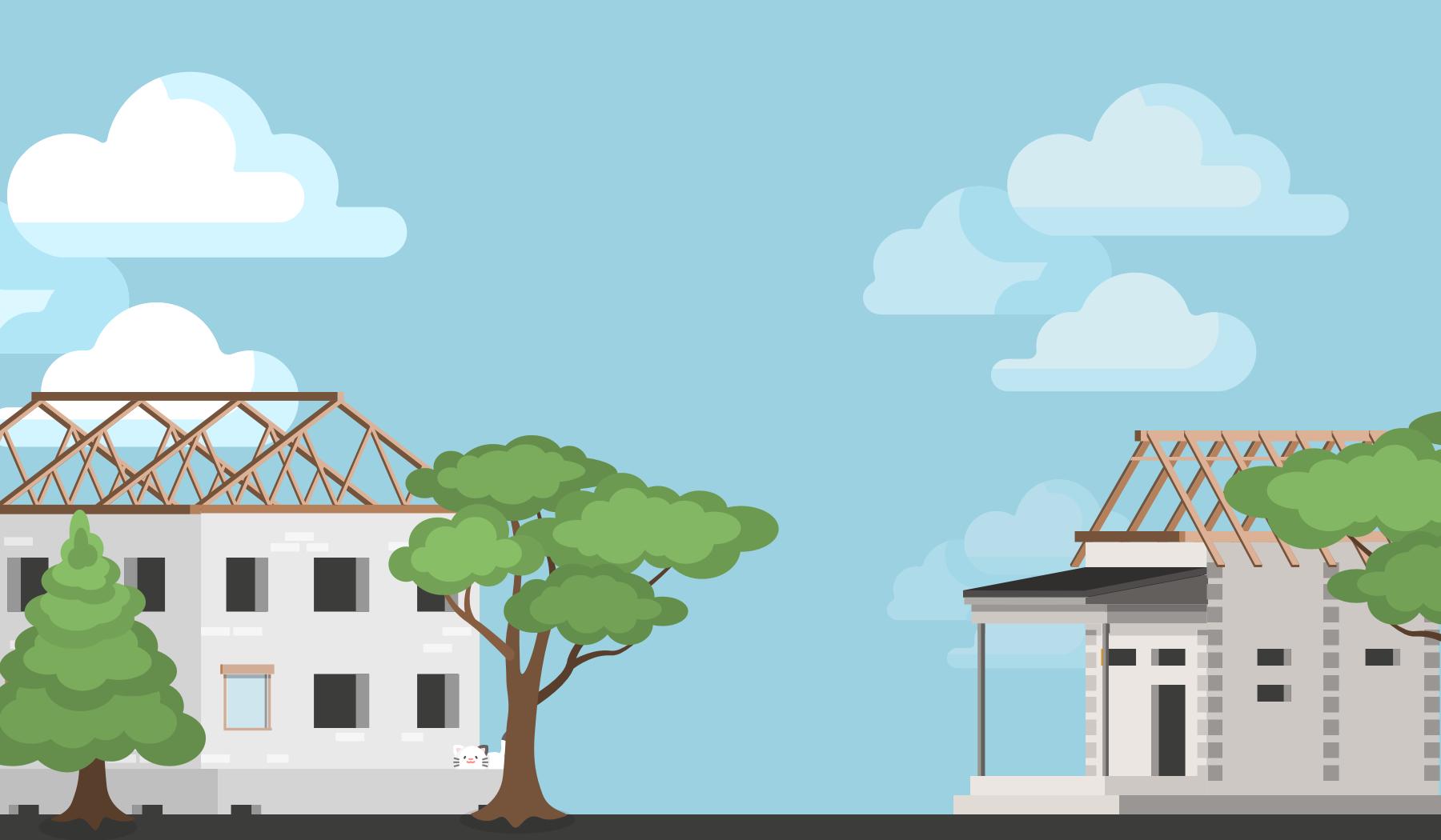 Infografika: Väzníkový verzus klasický krov
