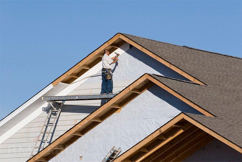 Podbitie presahu strechy