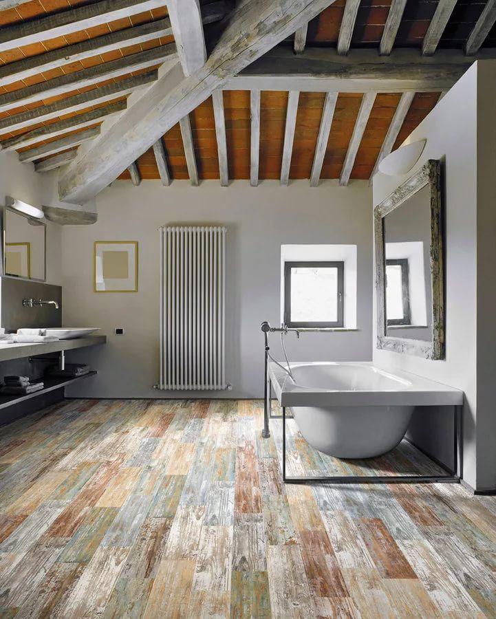 kupelna-dreveny-vzhlad-dlazba-radiator-vana-zrkadlo